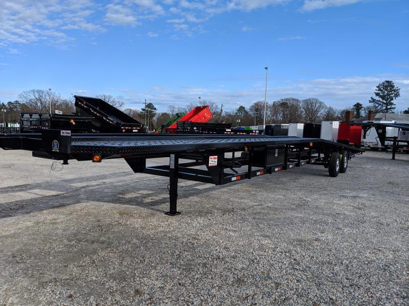 2019 Take 3 48' Ultra Low Pro Wedge 3 Car Trailer in Ashburn, VA
