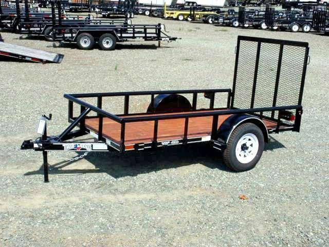 2018 Texas Bragg Trailers 5X10P w/ Gate
