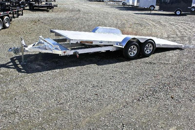 2018 Aluma 8220H 10K Tilt Car Trailer in Ashburn, VA