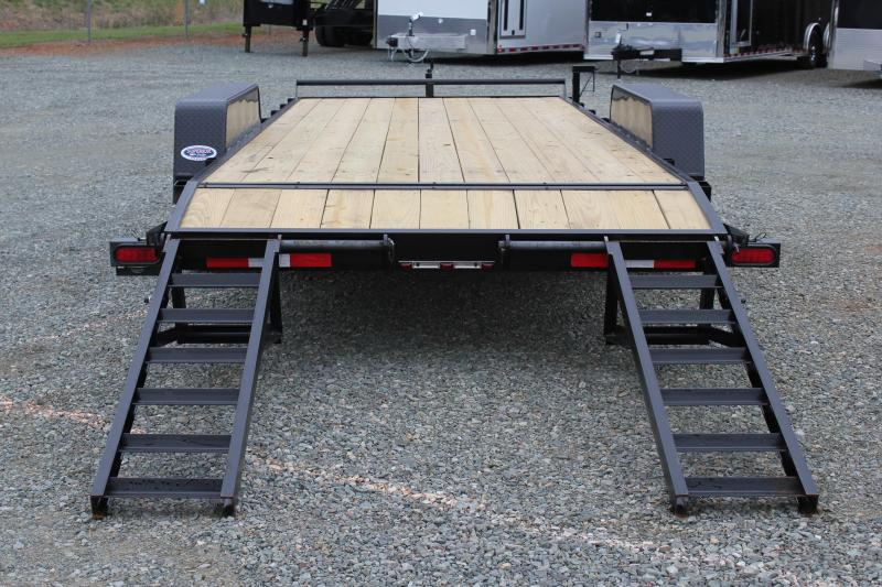 2018 Down 2 Earth 18ft 10K w/ Fold Up Ramps