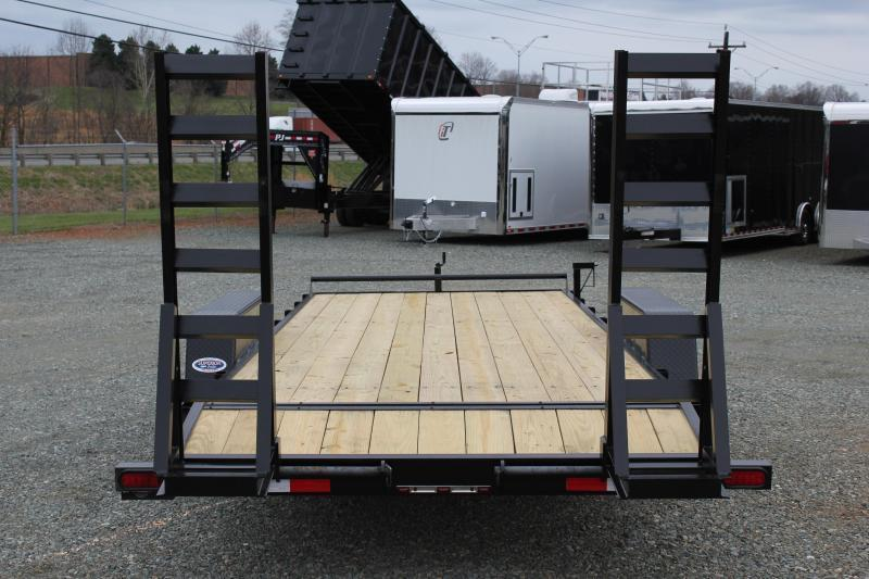 2018 Down 2 Earth 18ft 12K w/ Fold Up Ramps