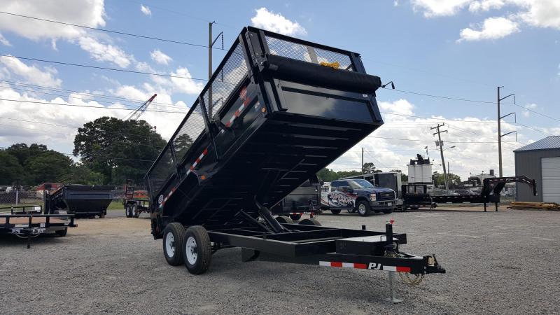2019 PJ Trailers 7X16 D9 14K Dump