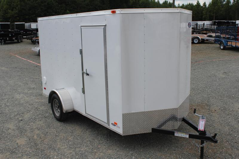 2019 Bravo Hero 6x12 w/ Extra Height and Double Rear Door  in Morrisville, NC