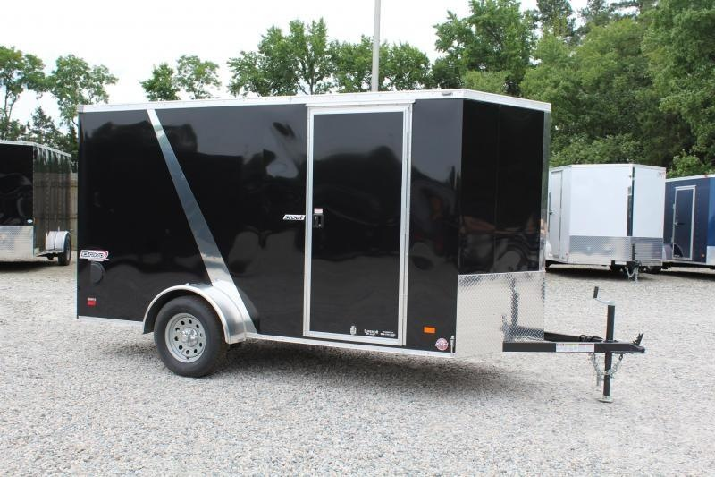 2020 Bravo Scout 6x12 w/ Ramp Door