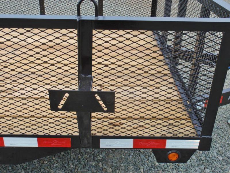 2018 Down 2 Earth 16ft 2ft Expanded Sides & Tailgate