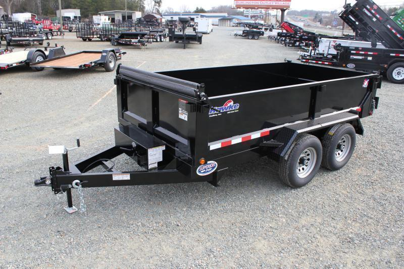 2019 Hawke 6x12 10K Dump w/ Spreader Gate Ramps & Tarp in Ashburn, VA
