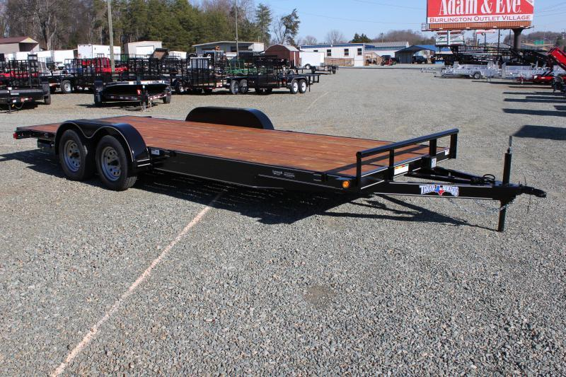 2019 Texas Bragg 20 HCH Car Trailer w/ Ramps