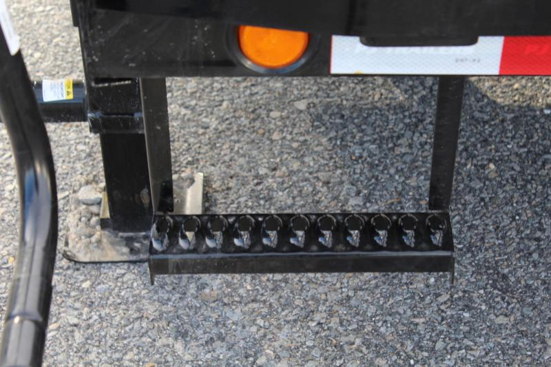 2018 PJ Trailers 34ft LD Low Pro Equipment Trailer