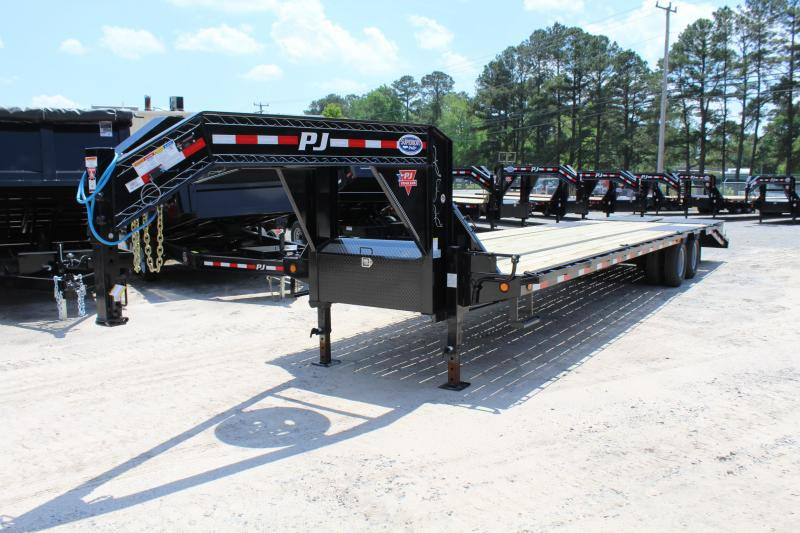 2019 PJ Trailers 34ft LD Low Pro Equipment Trailer