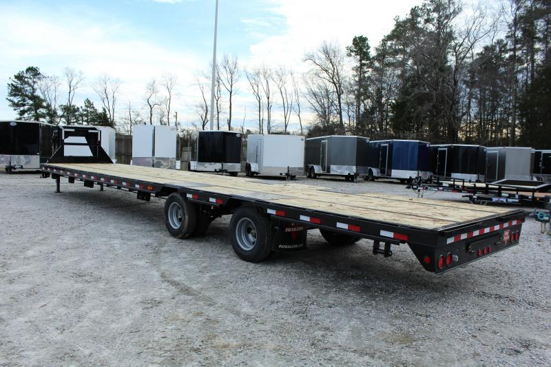 2019 PJ Trailers 40ft LD 24K GN w/ Slide-in Ramps