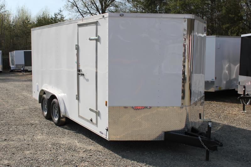 2018 Continental Cargo 8x16 w/ Ramp Door