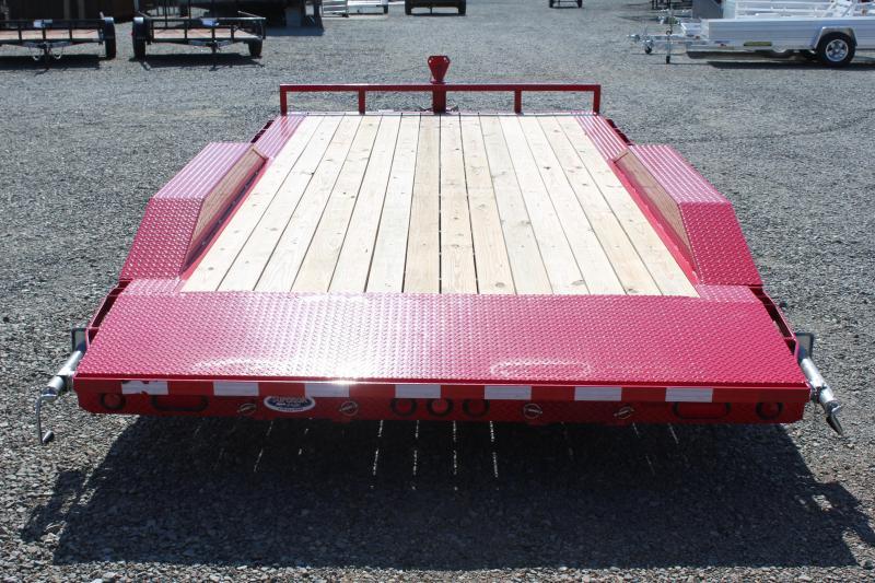 2018 PJ 18ft B5 10K w/ Rear Slide in Ramps
