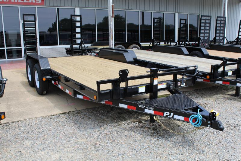 2020 PJ Trailers 18ft CC 14K w/Fold Up Ramps in Ashburn, VA