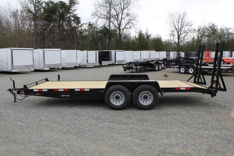 2019 Down 2 Earth 18ft 14K w/ Fold Up Ramps
