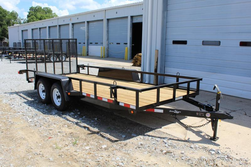 2019 Down 2 Earth 16ft Utility Trailer w/ Tailgate