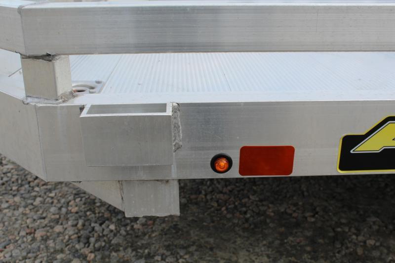 2018 Aluma 7818 BT w/ Bi Fold Gate