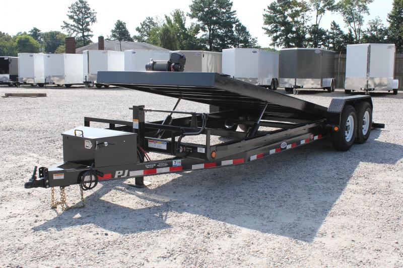 2019 PJ Trailers 22ft TF 14K Power Tilt