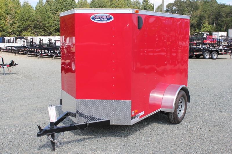 2018 Bravo Hero 5x8 w/ Extra Height and Ramp Door