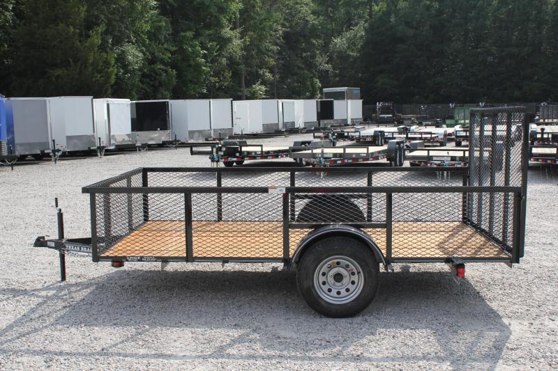 2019 Texas Bragg 6x12LD w/ 2ft Expanded Sides & Gate