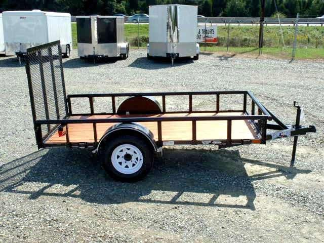 2017 Texas Bragg Trailers 5X10P w/ Gate