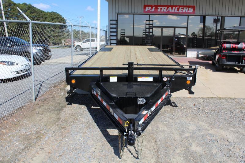 2019 PJ Trailers 26ft F8 14K Deckover w/Foldup Ramps