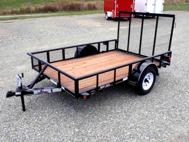 2017 Texas Bragg 6x10P w/ Gate & Expanded Sides