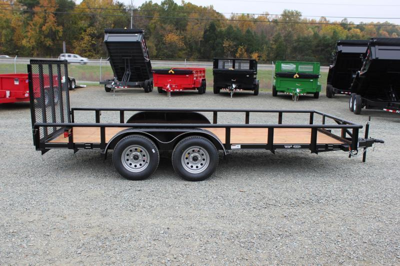 2019 Texas Bragg Trailers 16P w/ Gate