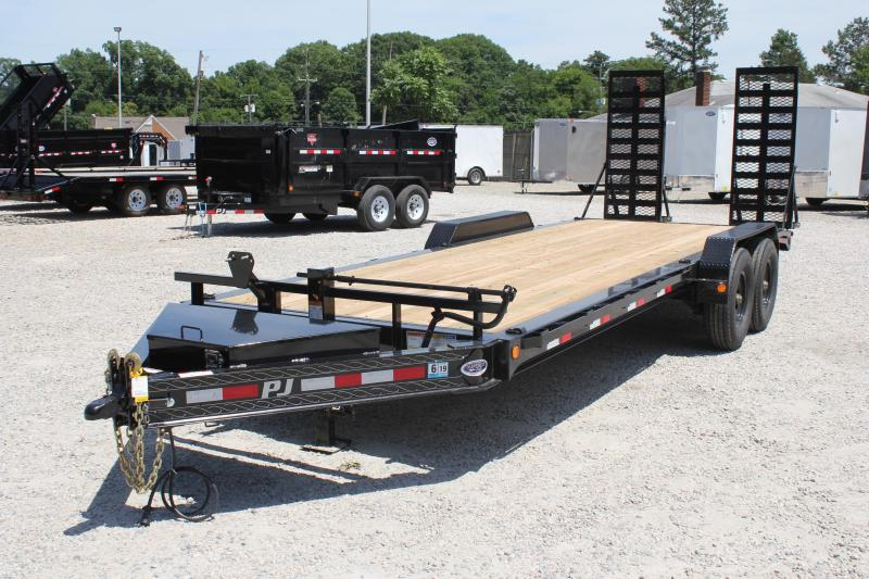 2019 PJ H4 22ft 16K w/ HD Fold Up Ramps in Ashburn, VA