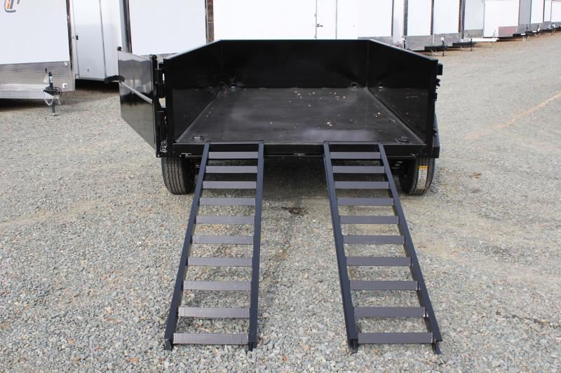 2019 Hawke 6X12 10K Dump w/ Spreader Gate Ramps And Tarp