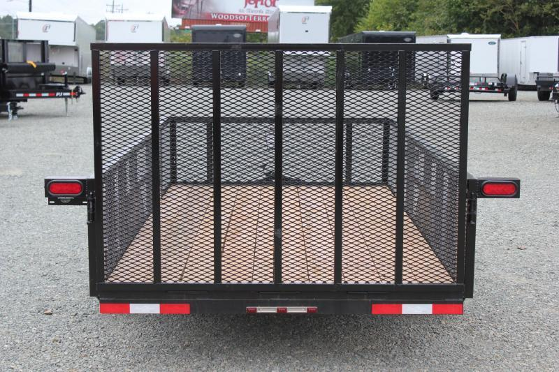 2018 Down 2 Earth 6x12 w/ 2ft Expanded Sides and Gate