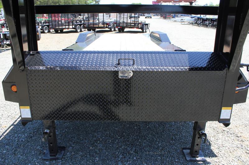 2020 PJ Trailers 26 H7 22K Gooseneck w/ 31X66 HD Fold Up Ramps