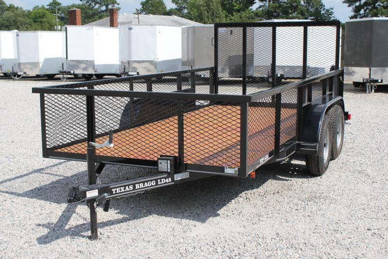 2019 Texas Bragg 14LD w/ 2ft Expanded Sides & Gate
