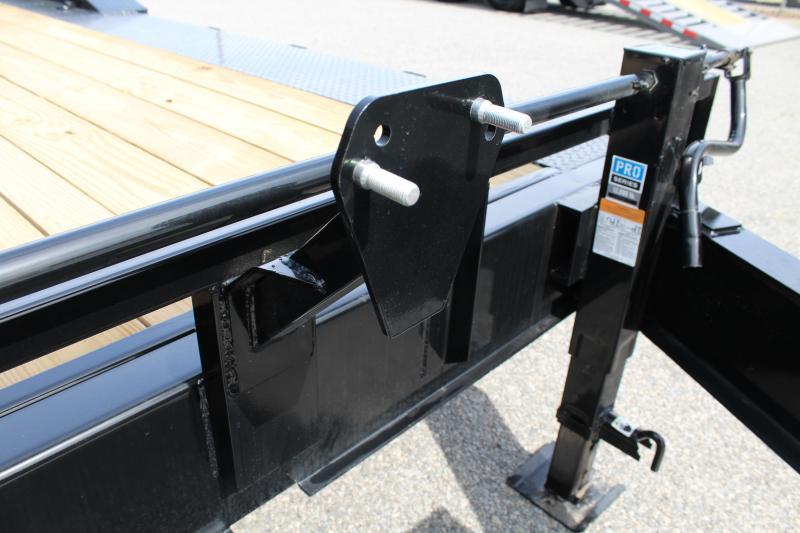 2020 PJ Trailers 22 H7 20K w/ 31X66 HD Fold Up Ramps