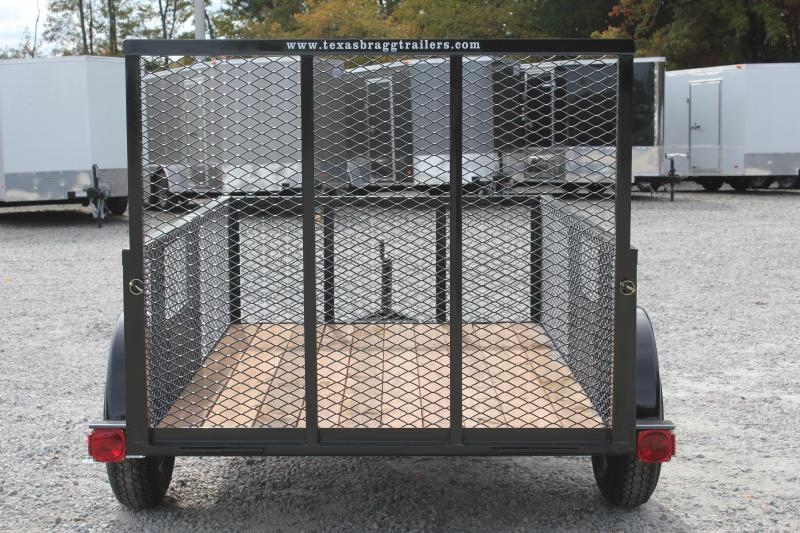 2018 Texas Bragg 5x8LD w/ 2ft Expanded Sides & Gate