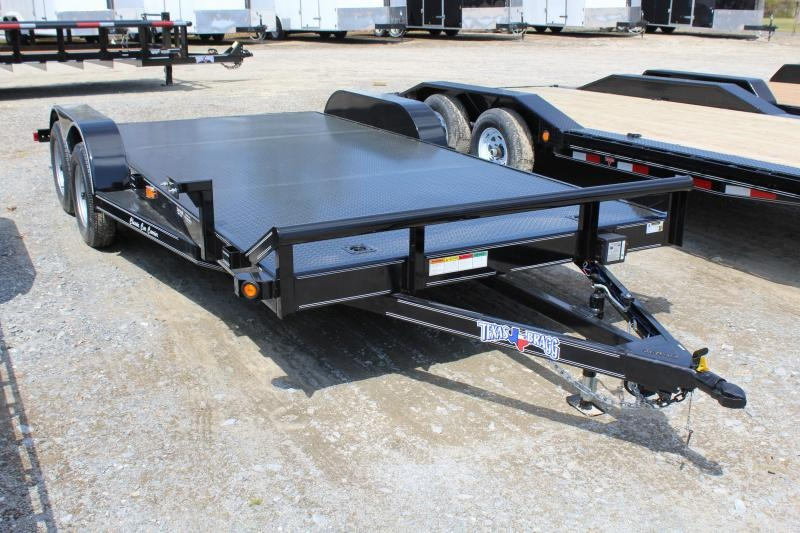 2019 Texas Bragg Trailers 18CCC Car Trailer