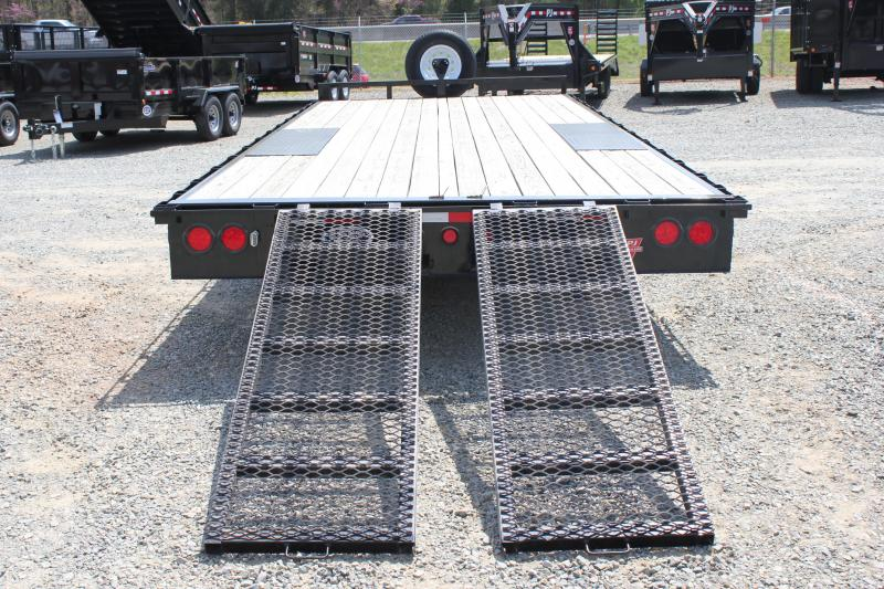 2017 Pre Owned PJ 20ft L6 10K Deckover w/Slide in Ramps