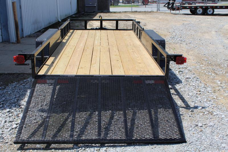 2018 Down 2 Earth 16ft Utility Trailer w/ Tailgate