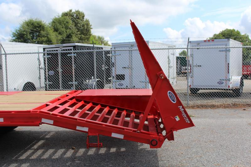 2020 PJ 40ft FD Gooseneck w/2 Flip Over Monster Ramps