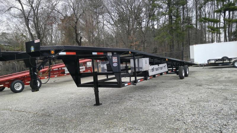 2019 Take 3 48' Ultra Lite Gooseneck 3 Car Trailer w/ Winch