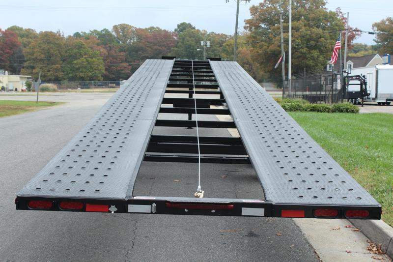 2018 Take 3 48' Ultra Lite Gooseneck 3 Car Trailer w/ Winch