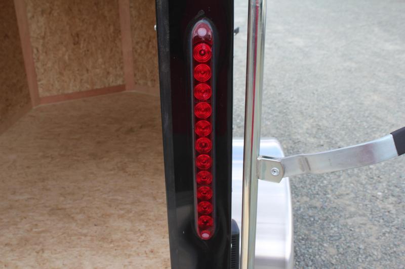 """2020 Bravo Hero 5x8 w/ Extra Height 24"""" Side Door and Ramp Door"""