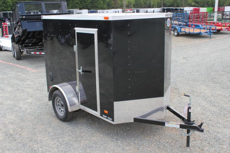 "2020 Bravo Hero 5x8 w/ Extra Height 24"" Side Door and Ramp Door in Morrisville, NC"