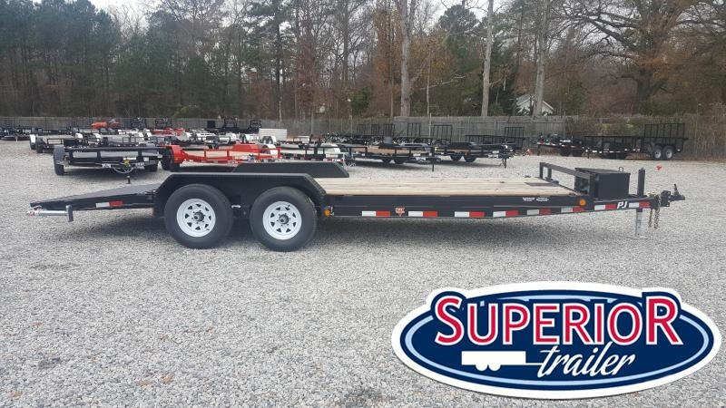 2018 PJ Trailers 20ft CE 10K Car Trailer