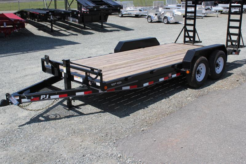 2020 PJ Trailers 18CC 14K  w/ Fold Up Ramps