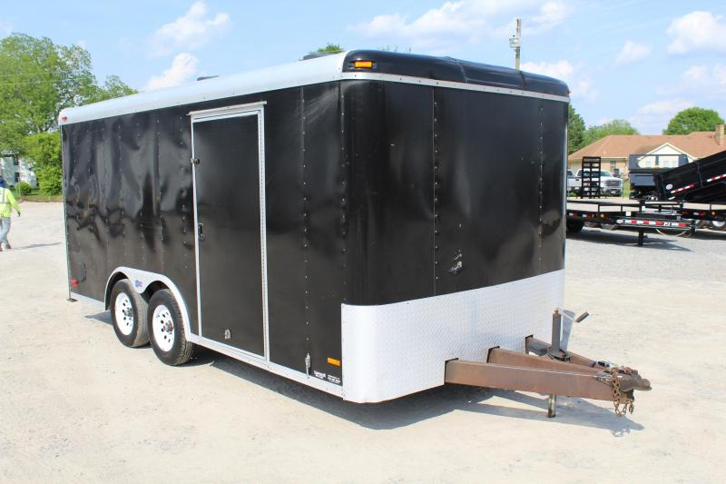 2007 Pace American Pace 8x16 Enclosed Cargo Trailer in Hollister, NC