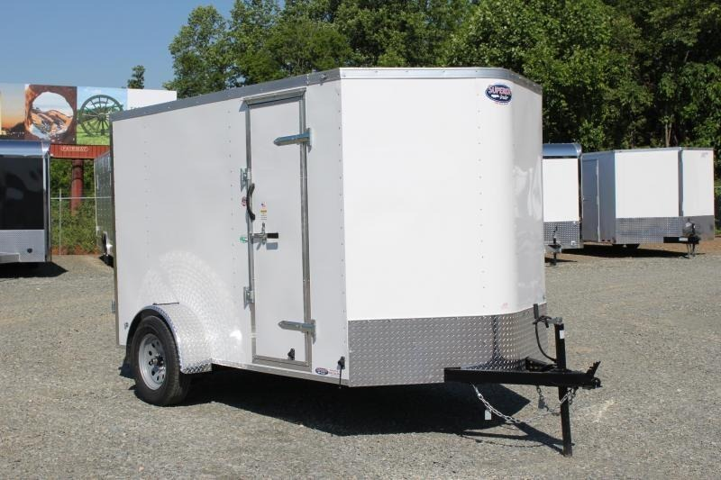 2020 Continental Cargo 6x10 Special w/ Double Rear Doors