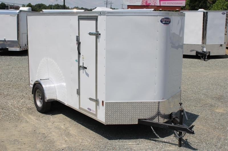 2020 Continental Cargo 6x12 Special w/ Ramp Door