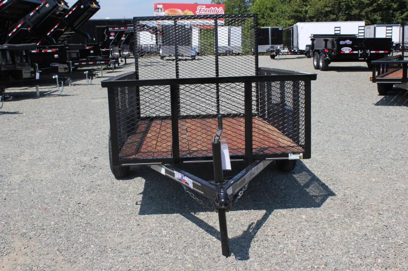 2019 Texas Bragg 5X8LB w/ 2ft Expanded Sides and Gate