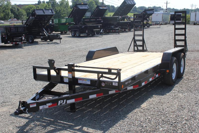 2019 PJ Trailers 18CC 14K w/ Fold Up Ramps