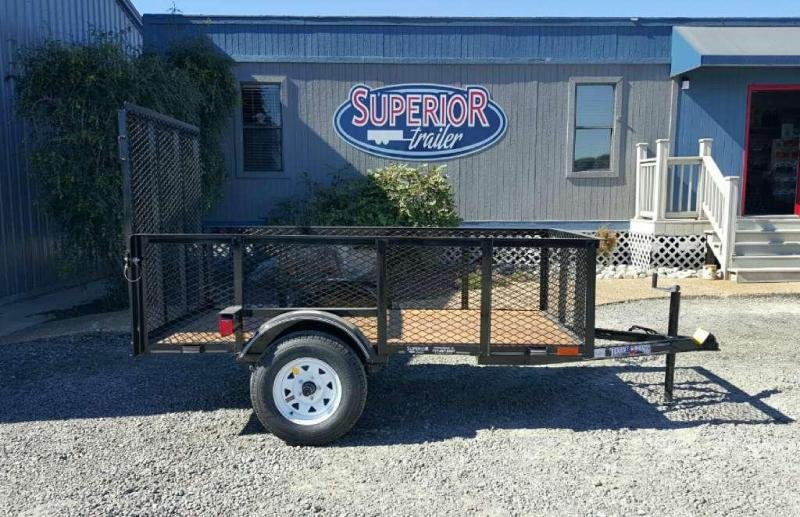 2018 Texas Bragg Trailers 4X8LB 2ft Expanded Sides Utility Trailer